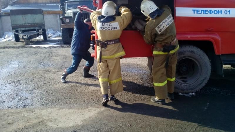 добровольные пожарные мин